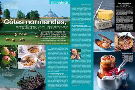 la cuisine actuelle la normandie à la une de cuisine actuelle michèle