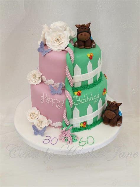 images  split birthday cakes  pinterest
