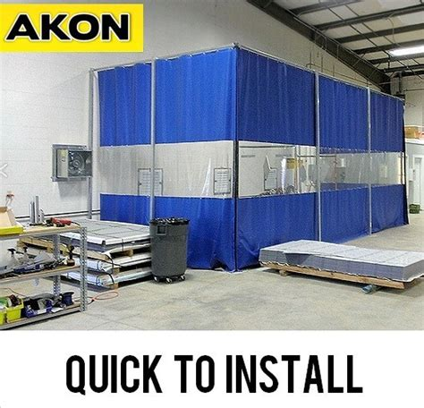 freestanding industrial curtains akon curtain and dividers