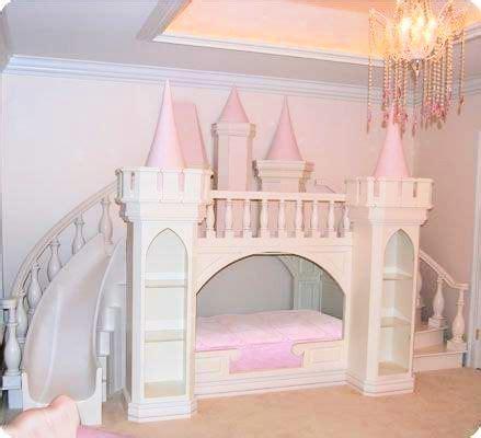pink castle bed chambre enfant chambre de petites
