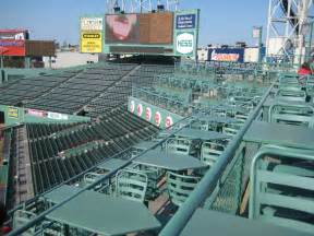 the deck from the budweiser porch at fenway park flickr