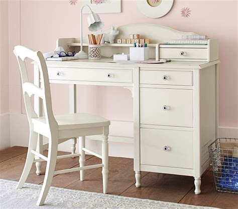 desks with storage juliette storage desk hutch pottery barn