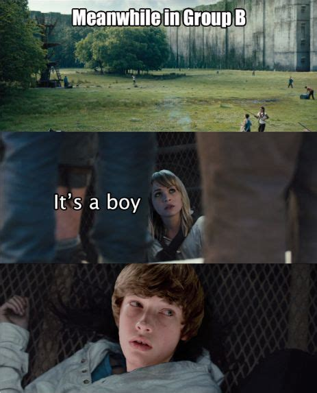 The Maze Runner Memes - 208 best images about the maze runner on pinterest book maze and maze runner