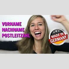 German Lesson 12 Personal Data In German  Die Personalien  Green Way  Green Way Ltd Tunisie