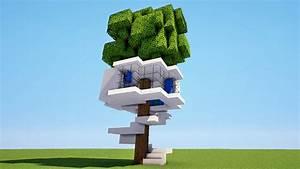 Comment Faire Une Cabane Dans Les Arbres : minecraft tuto comment faire une cabane dans les arbres moderne map youtube ~ Melissatoandfro.com Idées de Décoration