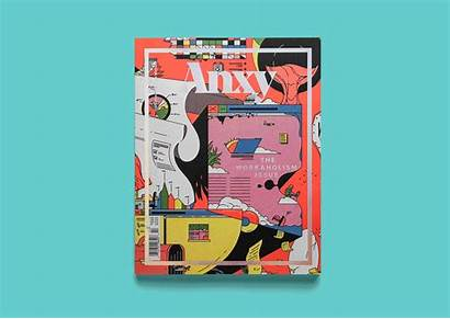 Anxy Magazine Workaholism Issue License Reserved Rights