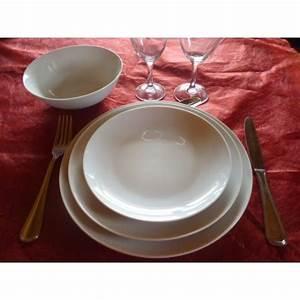 Service De Table 18 Pièces : service de table en porcelaine de limoges centre vaisselle porcelaine blanche et d cor e ~ Teatrodelosmanantiales.com Idées de Décoration