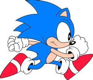 Classic Sonic Running