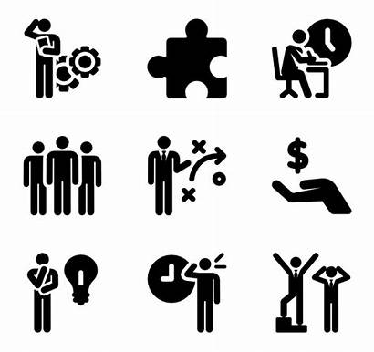 Human Productivity Pictograms Icon Icons Working Clipart