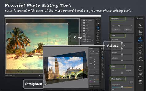 Foto R fotor photo editor for mac