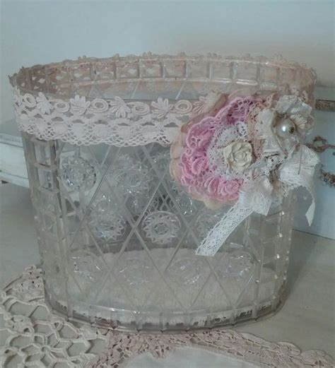 shabby chic wastebasket 17 best images about trash never looked this good gorgeous trash cans on pinterest trash
