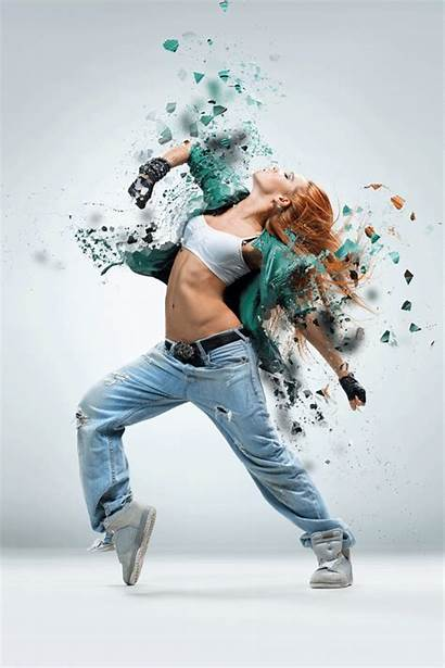 Photoshop Dance Action Animated Hip Hop Shatter