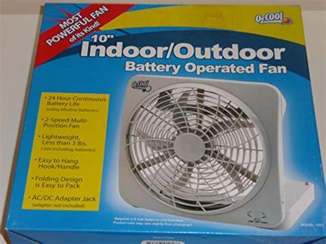 ozark trail 10 battery operated adjustable portable fan ozark trail o2 cool 10 inch battery operated portable fan