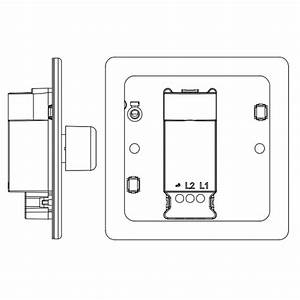 Bg Nexus Flatplate Screwless 1 Gang Dimmer  Fbs81p  At Ukes