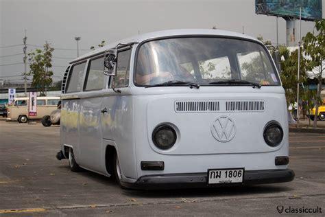 volkswagen bus front siam vw festival 2014 bangkok thailand classiccult
