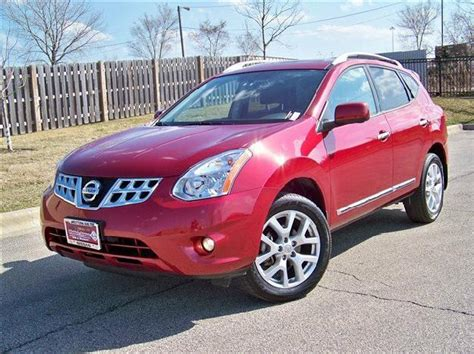 red nissan rogue nissan rogue review and photos
