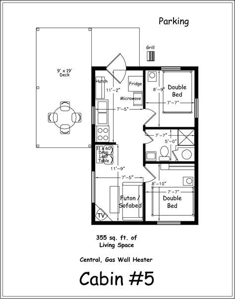 free house blue prints archer 39 s poudre river resort premium cabin 5