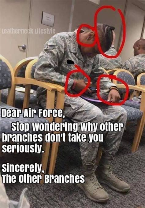 Someone get this man an AFI 36-2903 : AirForce