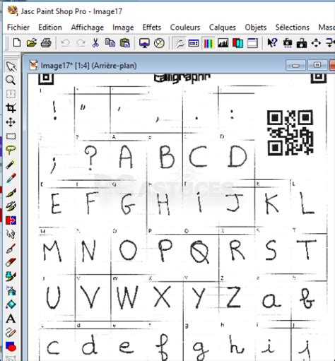 pc astuces créer sa de caractères manuscrite