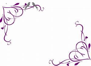 Purple Flower Border Clip Art | Clipart Panda - Free ...