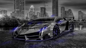 Lamborghini Veneno Crystal City Car 2014