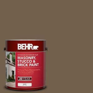 behr premium 1 gal ms 46 chestnut brown flat interior