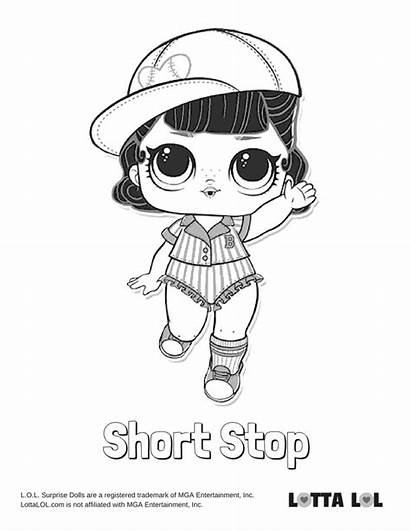 Lol Coloring Surprise Pages Series Pop Short