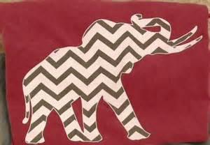 Alabama Chevron Elephant Shirt