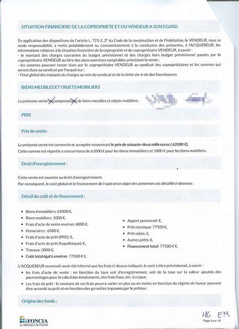 modele de lettre substitution compromis de vente n 233 gocier apr 232 s signature du compromis de vente possible