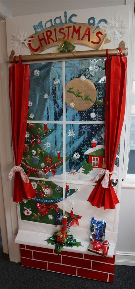 holiday door decoration contest st place accounting
