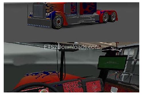 ets2 optimus prime mod download