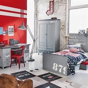 Chambre Deco Industrielle : deco industrielle chambre ado ~ Zukunftsfamilie.com Idées de Décoration