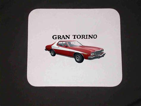 Starsky And Hutch Ford Gran Torino W/logo Mousepad