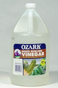 ozark white distilled vinegar   grain  gal