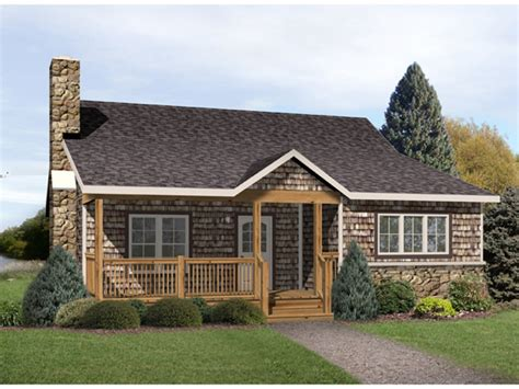 Radford Country Cabin Home Plan 058d 0176 House Plans And