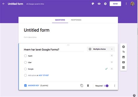 google forms video kom i gang med google forms centre for teaching and