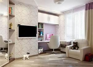 Deco Murale Blanche : 44 super id es pour la chambre de fille ado ~ Teatrodelosmanantiales.com Idées de Décoration