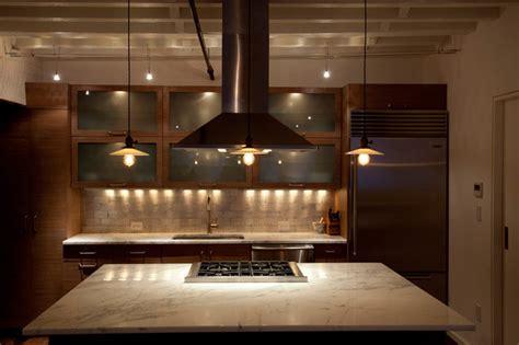 chefs open kitchen  york city tribeca loft luxury