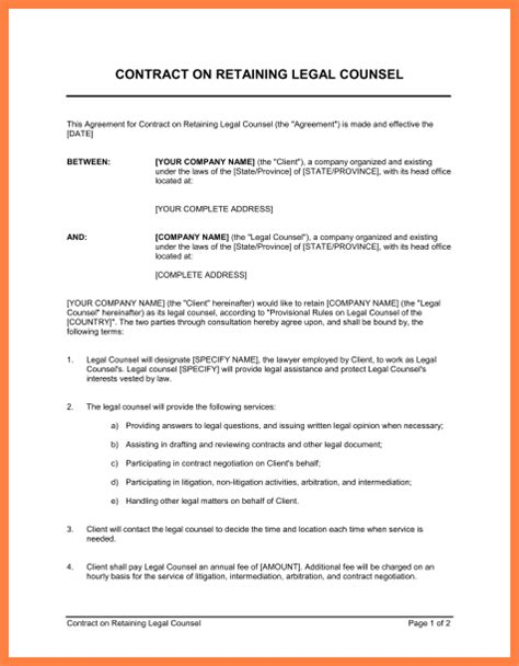 construction project management agreement template