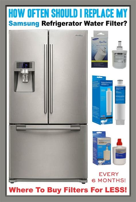 samsung refrigerator water filters     replace  filter removeandreplacecom