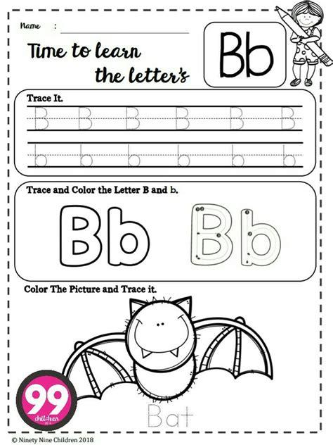 alphabet worksheets trace  color  images