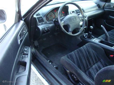 Black Interior 2001 Honda Prelude Type Sh Photo #45606722