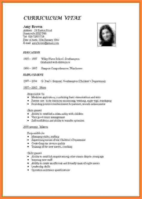 Make A Cv For by How To Make A Biodata For Teaching Resume Format