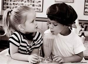 cute, attitude, child, couple, love, drinking ...