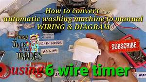 How To Convert Automatic Washing Machine To Manual Wiring