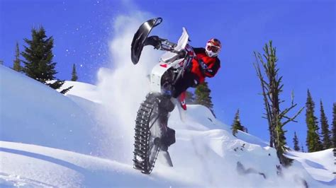 Ronnie Renner Snow Biking in Idaho Backcountry - YouTube