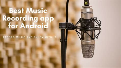 Just remember to factor in background noise and your smartphone's speaker quality, volume levels, and. Best Music Recording Android Apps