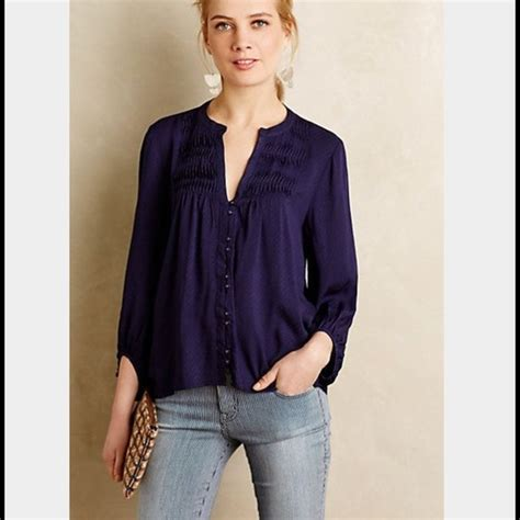 anthropologie blouses 77 anthropologie tops maeve for anthropologie