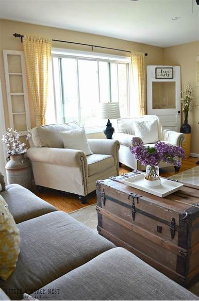 Farmhouse Living Country Summer Rooms Refresh Decor
