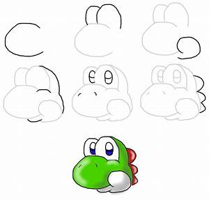 Drawing Pictures: Yoshi Drawing Pictures